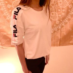White Filia short sleeve shirt